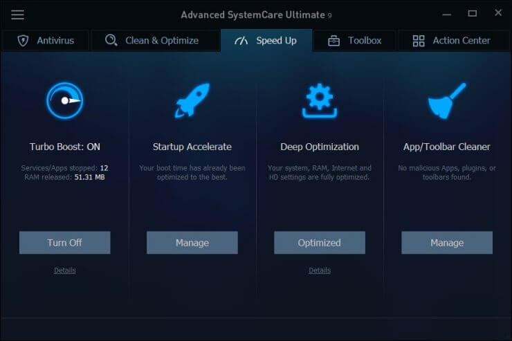 Advanced SystemCare Ultimate11.1.0.72 Crack + License Key