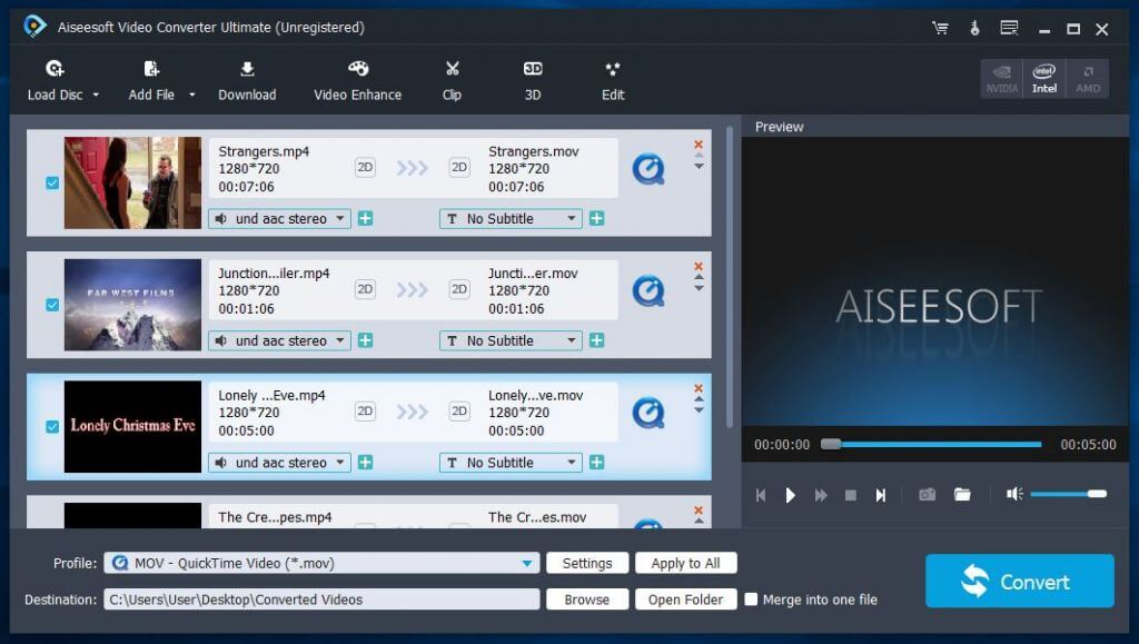 AiseeSoft Video Converter Ultimate 10.1.20 Crack+serial free download