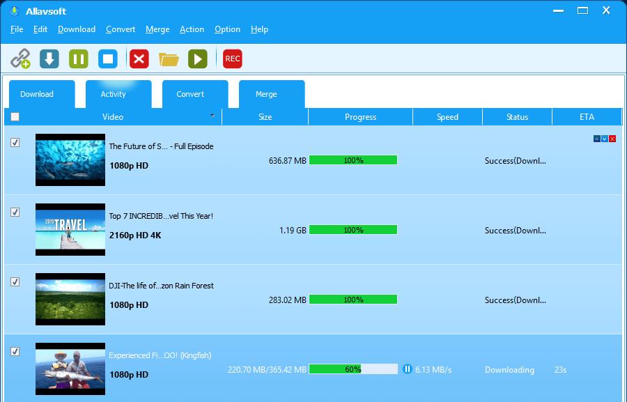 Allavsoft Video Downloader Converter 3.23.3.7740 Crack free download 2021