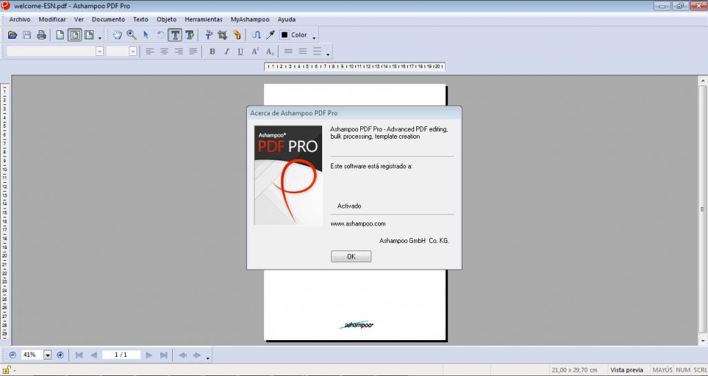 Ashampoo PDF Pro 2.0.7 Crack and Serial Key  Free download 2021