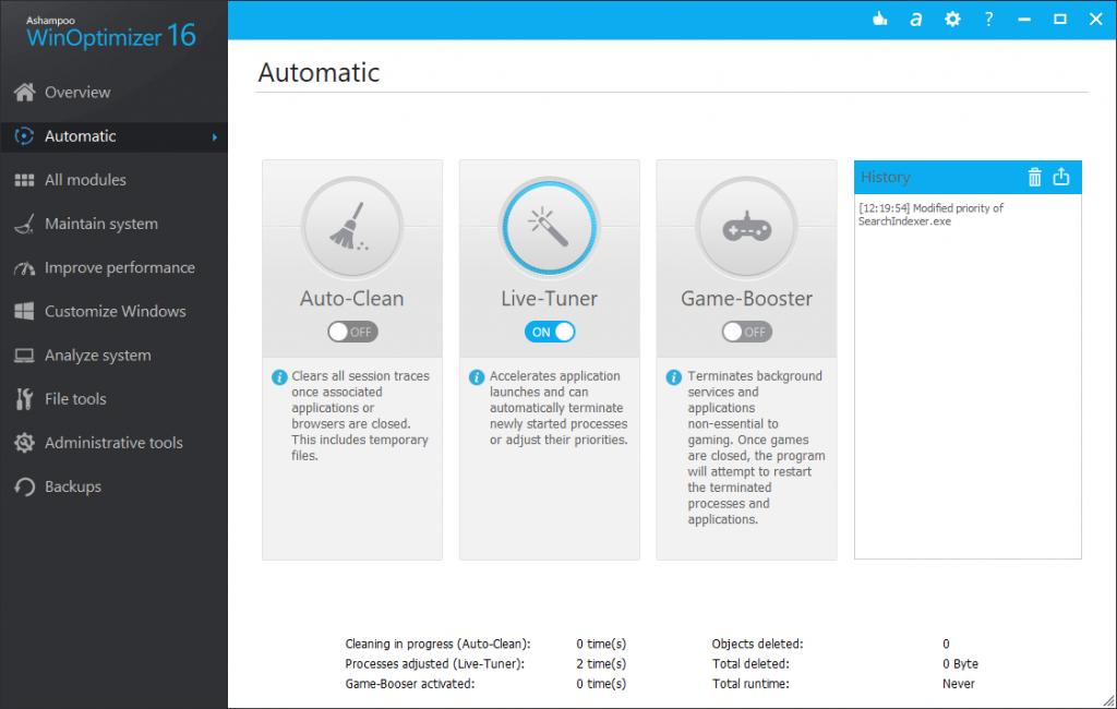 Ashampoo WinOptimizer 18.00.18 Crack Key Free Download